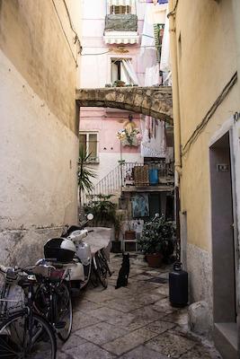 Il centro storico di Bari