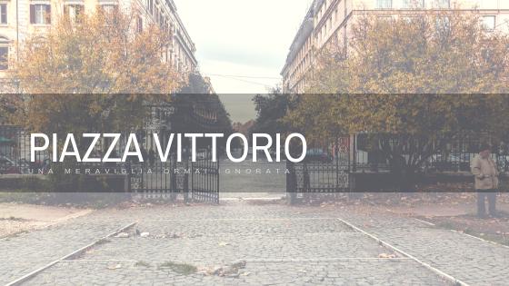 Giardino di piazza Vittorio nel quartiere Esquilino