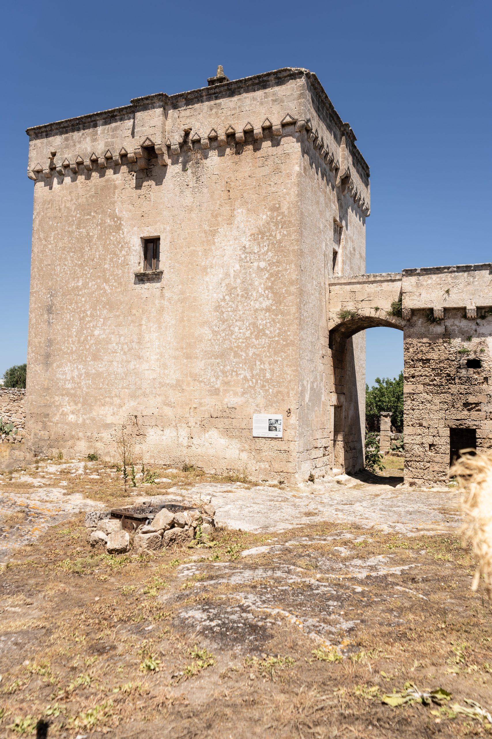 Torre Fortificata Spina Piccola nella Masseria Spina a Monopoli